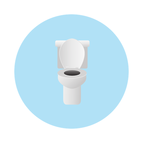 Toilet for potty training